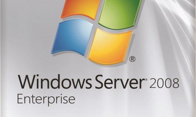 Koniec podpory Windows Server 2008