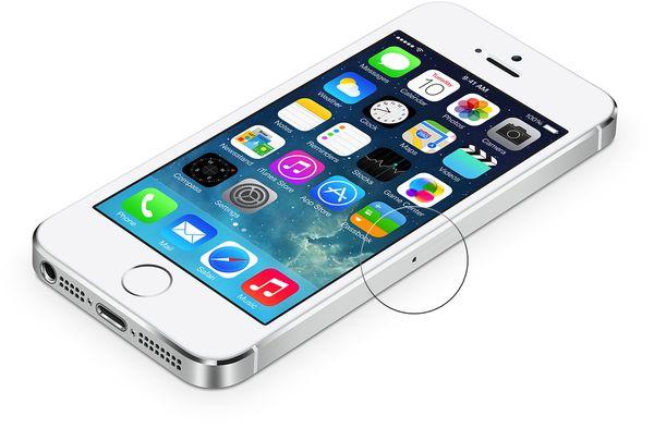 Ilustrácia iPhone sobrazoukou so zoznamom aplikácií
